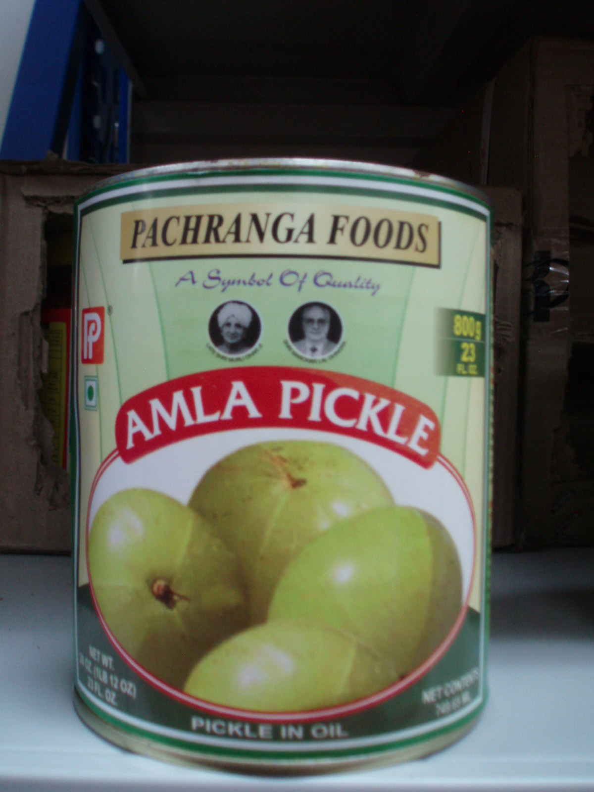 Amla Pickle-Pachranga-800 gm