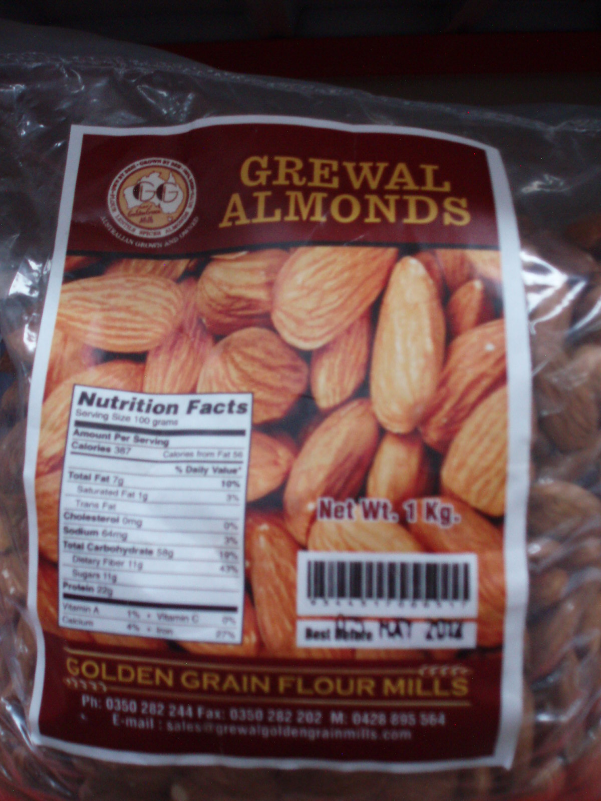 Almonds-Grewal-500 gm