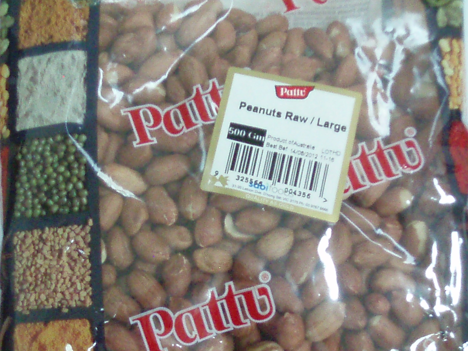 Peanut Raw Large-Pattu-250 gm