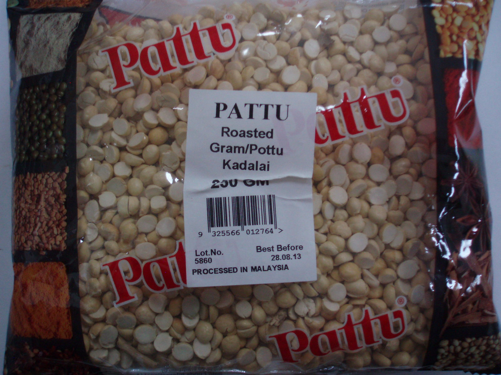 Pottu Kadalai Roasted Gram Split-Pattu-250 gm