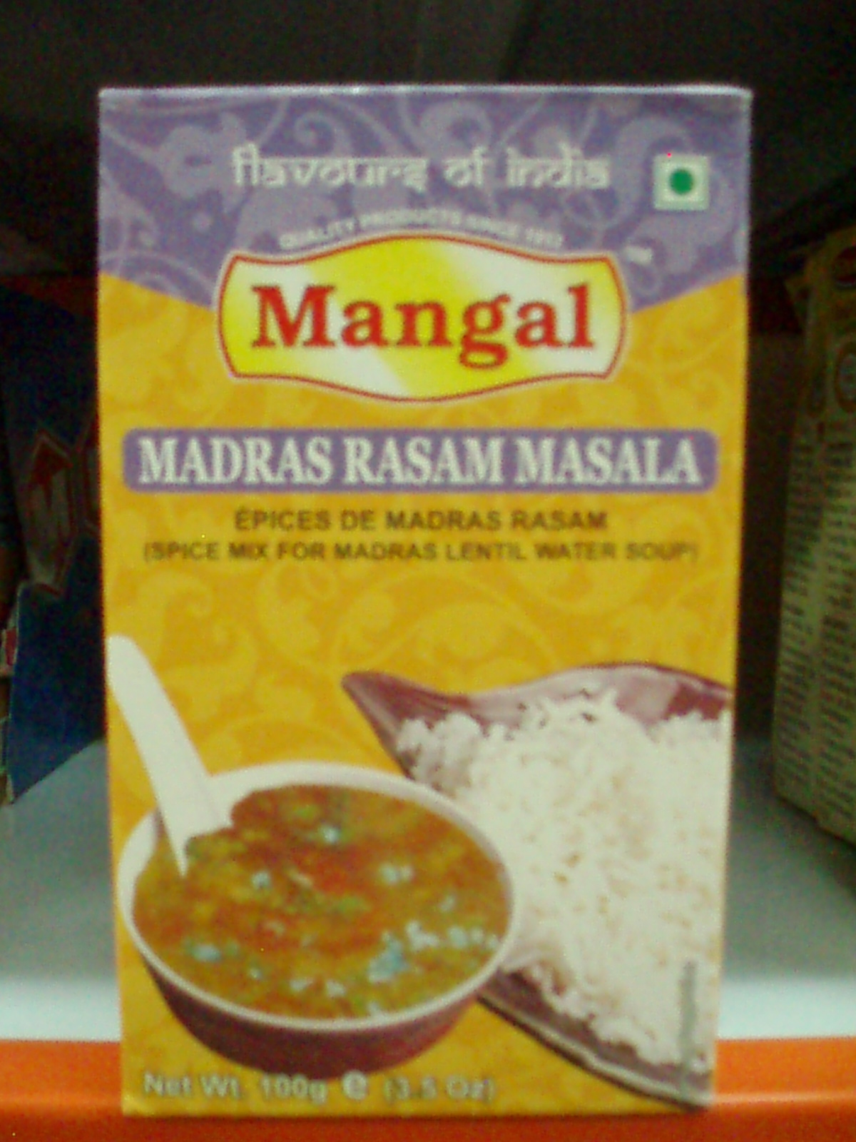 Rasam Powder-Mangal-100 gm