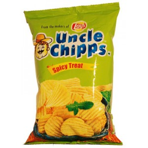 Uncle Chips Spicy Treat-Uncle Chips-80 gm