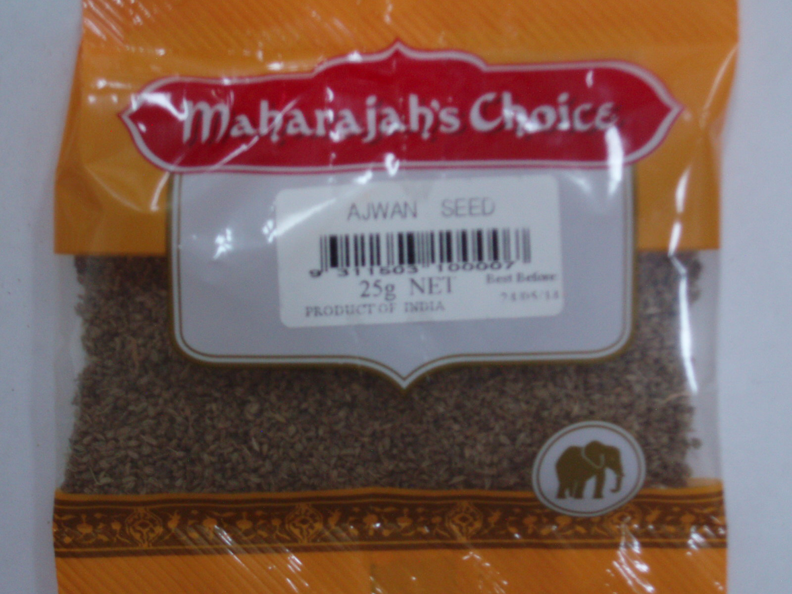 Ajwan Seed  MAHARAJAH'S CHOICE 25 gm