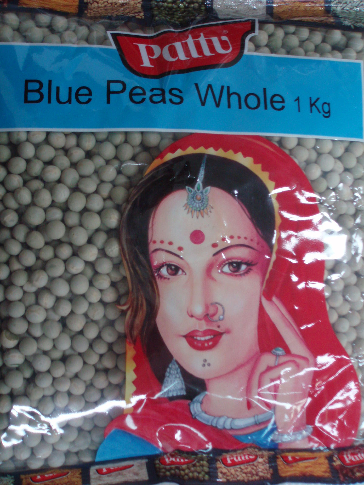 Blue Peas Whole-Pattu-1 Kg