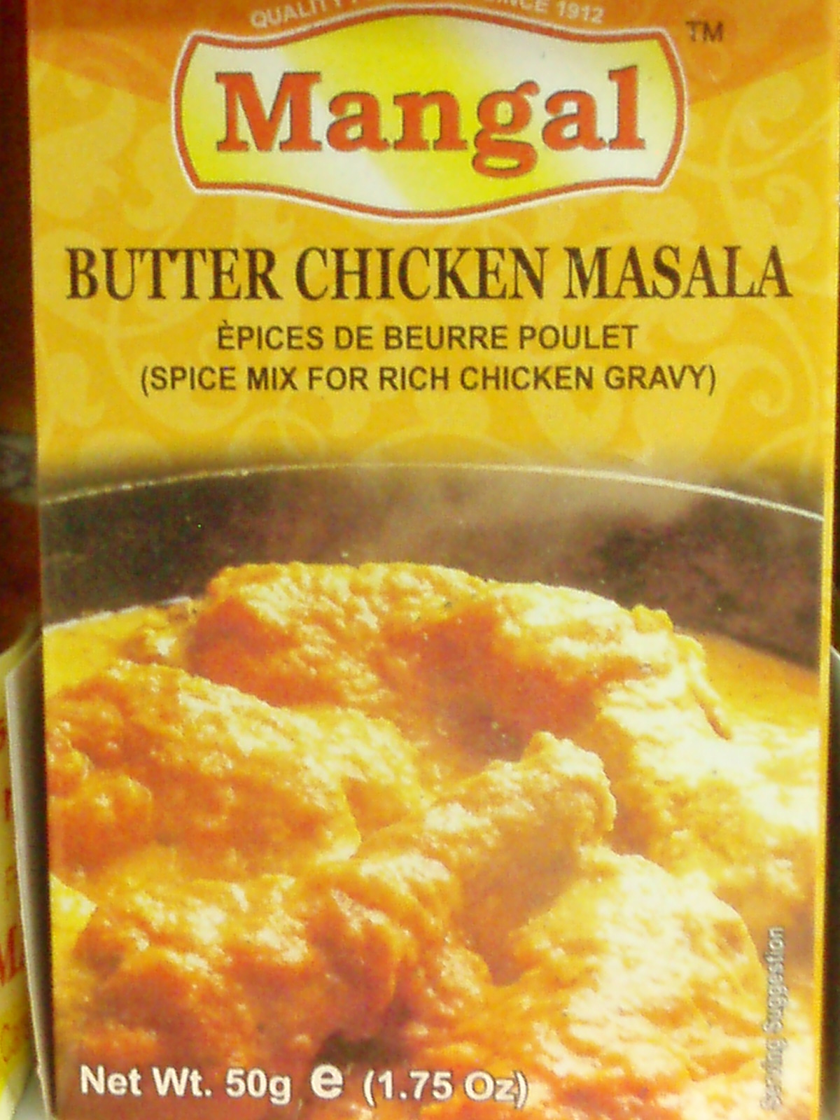 Butter Chicken Masala-Mangal-50 gm