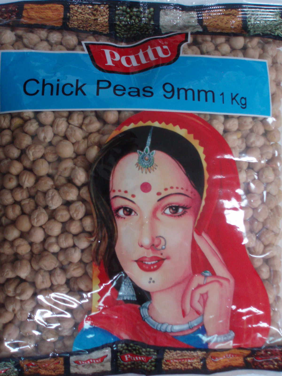 Chick Peas Kabuli 9Mm-Pattu-5 Kg