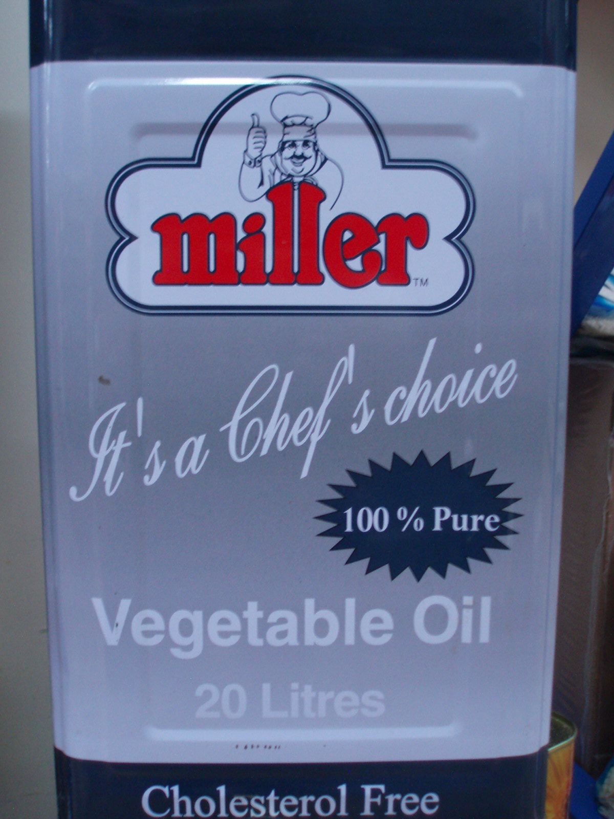 Vegetable Oil-Miller-20 ltr