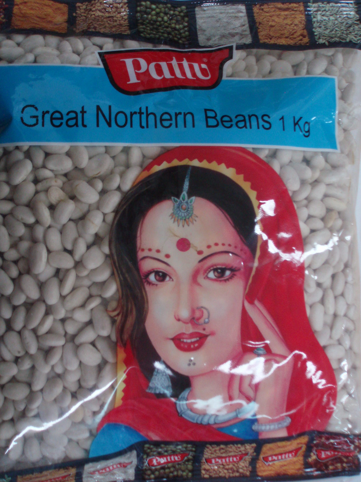 Great Northern Beans-Pattu-1 Kg
