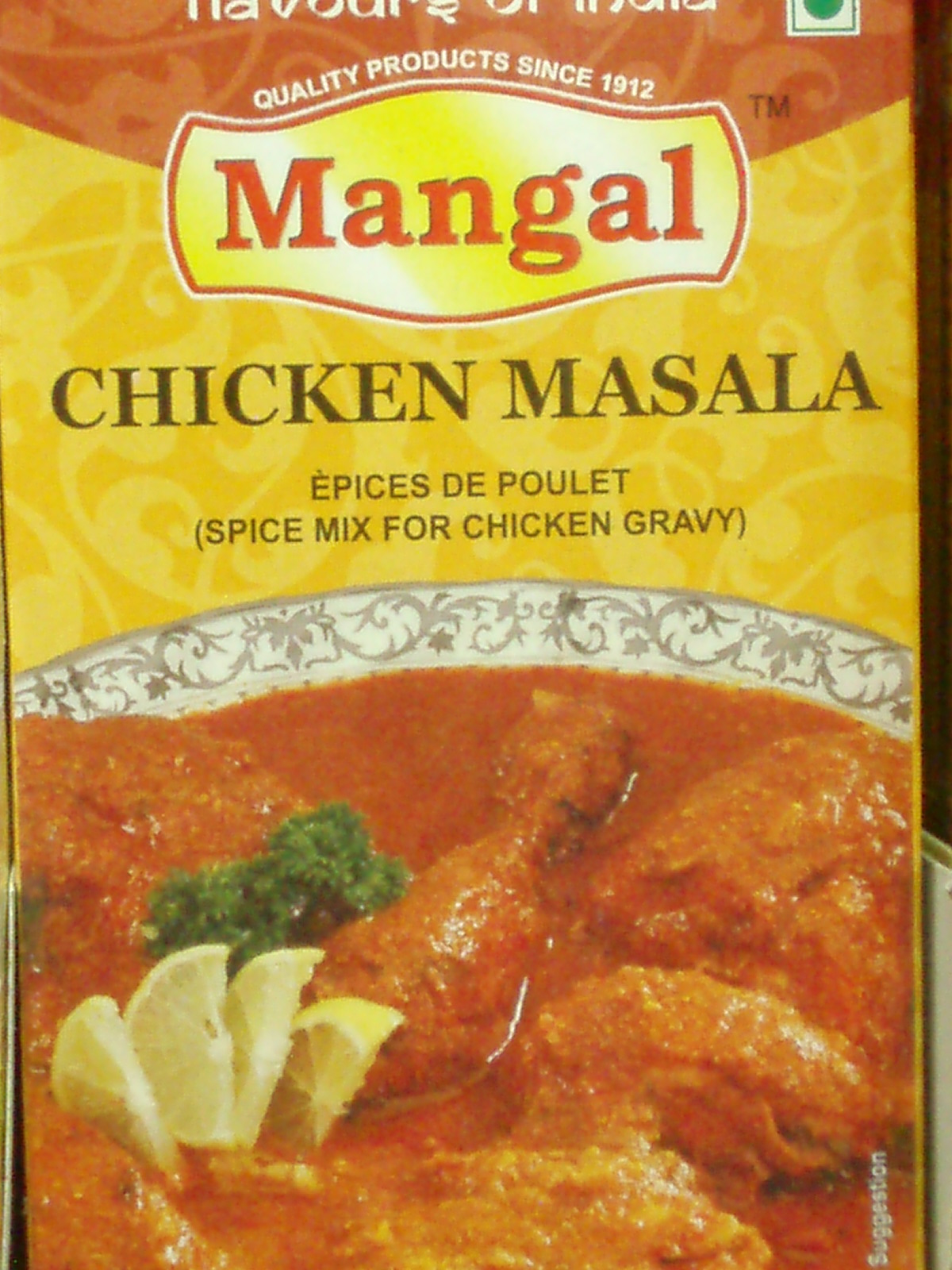 Chicken Masala-Mangal-100 gm