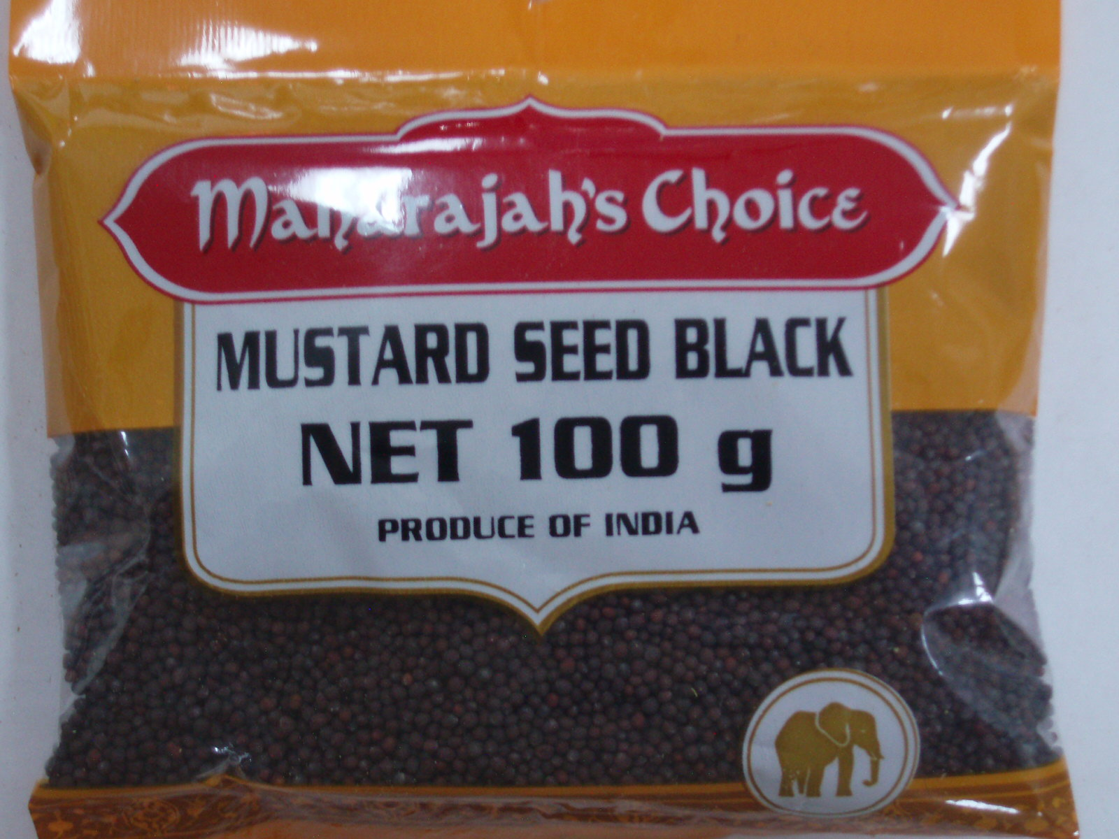 Mustard Sd Black  MAHARAJAH'S CHOICE 100 gm
