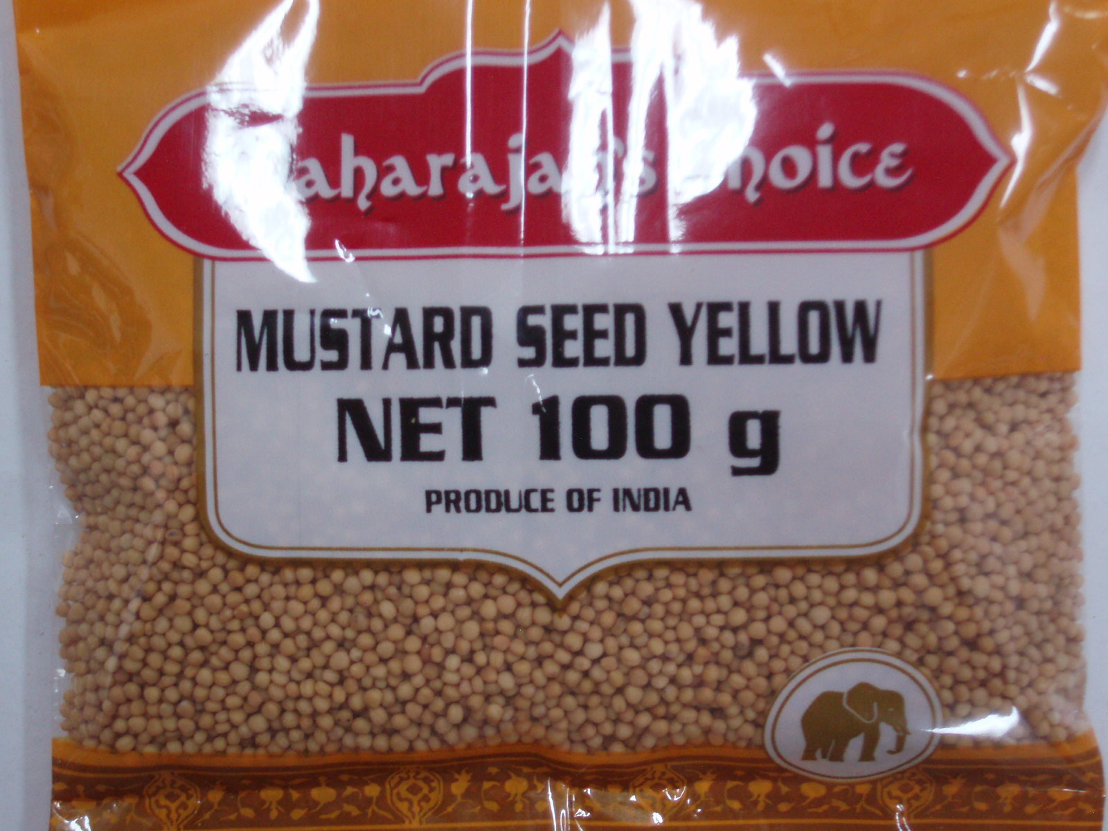 Mustard Yellow  MAHARAJAH'S CHOICE 100 gm