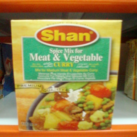 Meat & Vegetable Mix-Shan-50 gm