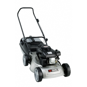 Sanli Lawn Mower, Choice to mulch or catch,OHV 4 Stroke, 4 blade mulch or catch cutting system, Heavy duty steel chassis, Twin grip grass cutter, Easily removable mulching plug.